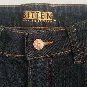 Bitten by SJP dark wash jeans like new